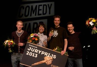 Culture Comedy Award 2013; Foto: Elke Teurlinckx