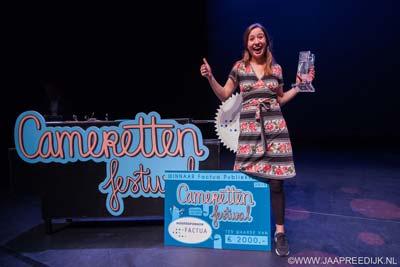 Anne Neuteboom wint Cameretten