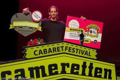 Patrick Laureij wint Cameretten - foto Jaap Reedijk