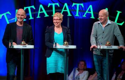 TatataTaal! met Frank van Pamelen, Cindy Pieterse, Diederik van Vleuten