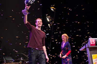 Tim Fransen wint Leids Cabaret Festival 2014